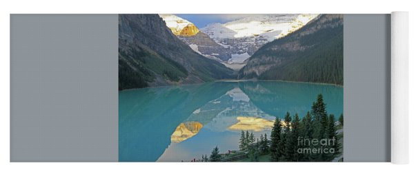 Lake Louise Sunrise Yoga Mat