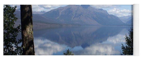 Lake Mcdonald Glacier National Park Yoga Mat