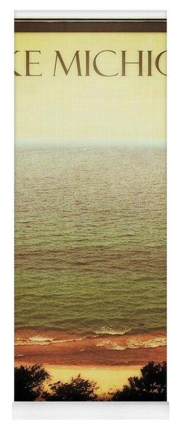 Lake Michigan M-22 Overlook Yoga Mat