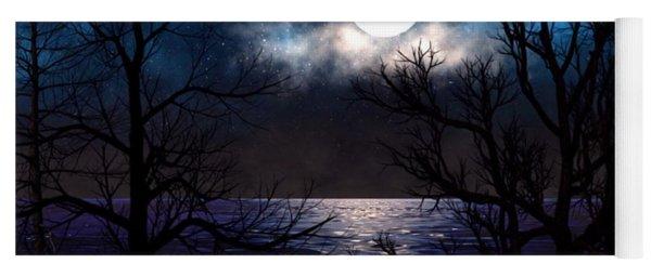 Lake Midnight Yoga Mat