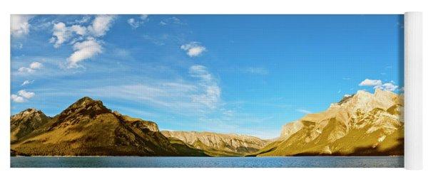 Lake Minnewanka Banff Yoga Mat