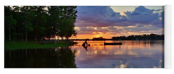Lake Murray Sc Reflections Yoga Mat