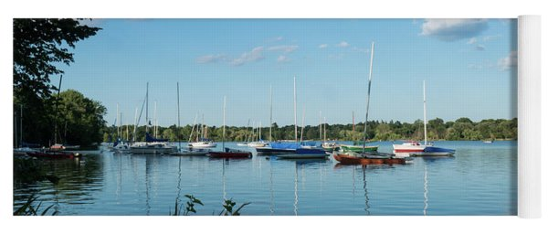 Lake Nokomis Minneapolis City Of Lakes Yoga Mat