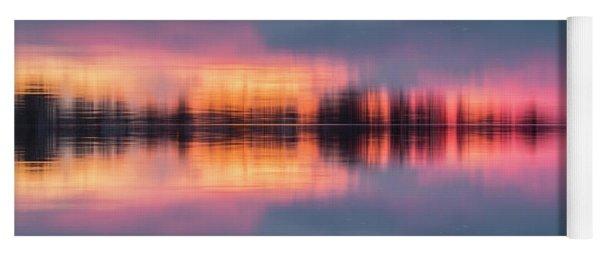 Lake Norman Sunset Yoga Mat