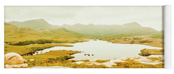 Lake On A Mountain Yoga Mat
