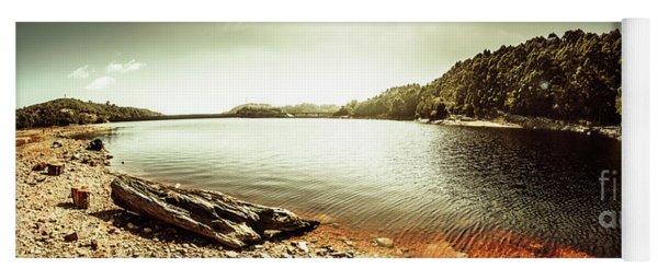 Lake Pieman, West Tasmania Yoga Mat