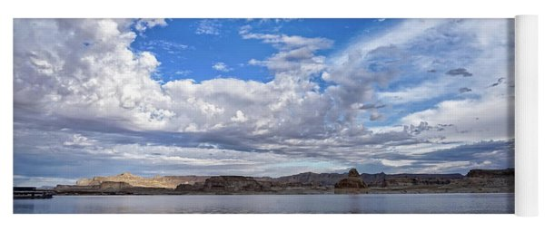 Lake Powell In The Morning Yoga Mat