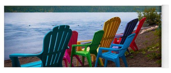 Lake Quinault Chairs Yoga Mat