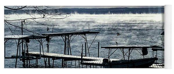 Lake Steam Yoga Mat