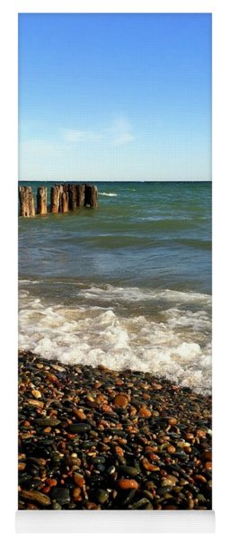 Lake Superior At Whitefish Point Yoga Mat