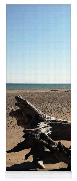 Lake Superior Driftwood Yoga Mat