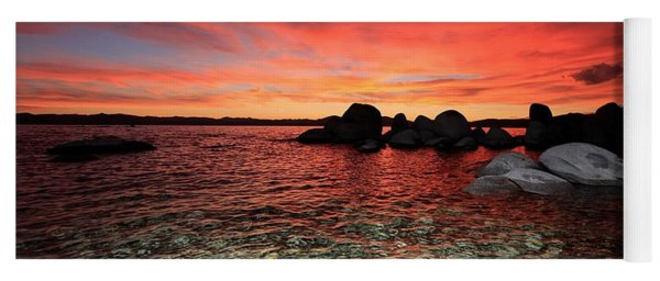 Lake Tahoe Liquid Dreams Yoga Mat
