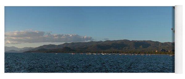 Lake Tahoe Panorama Yoga Mat