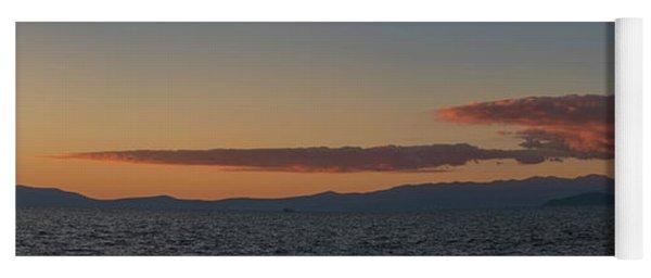 Lake Tahoe South Shore Panorama - 1 Yoga Mat