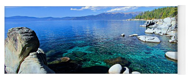 Lake Tahoe Summer Treasure Yoga Mat