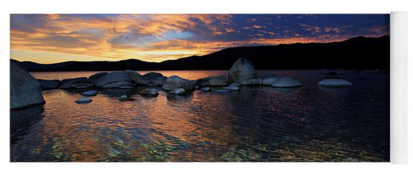 Lake Tahoe Sundown Yoga Mat