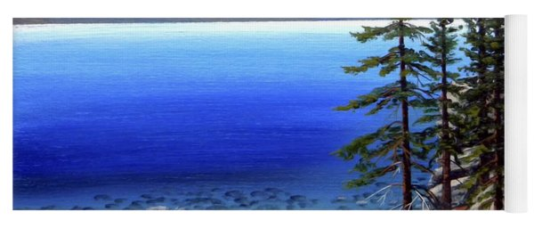 Lake Tahoe Sunrise Yoga Mat