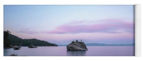 Lake Tahoe Sunrise  Yoga Mat