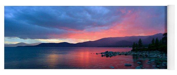 Lake Tahoe Sunset Yoga Mat
