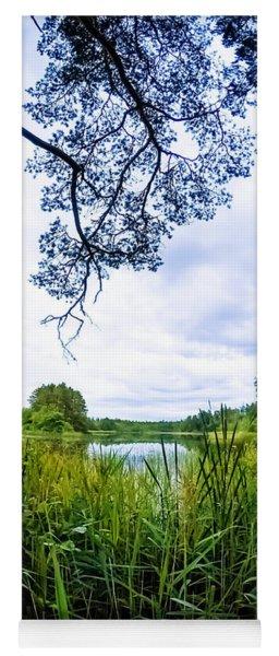 Lake View Yoga Mat