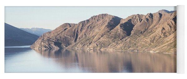 lake Wanaka in New Zealand south island Yoga Mat