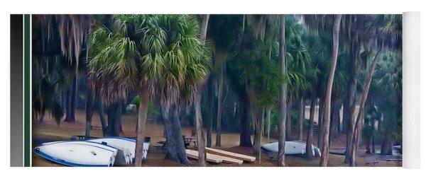Lake Wauburg Rain Yoga Mat