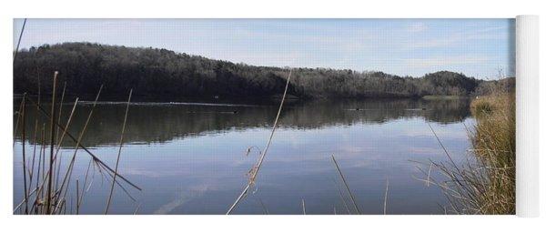 Lake Zwerner Early Spring Yoga Mat