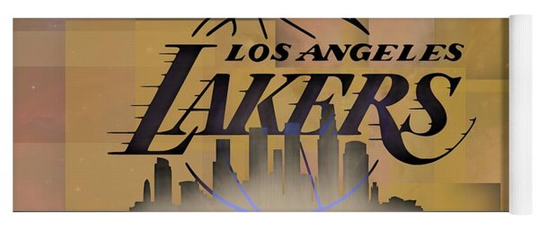 Lakers Skyline Yoga Mat