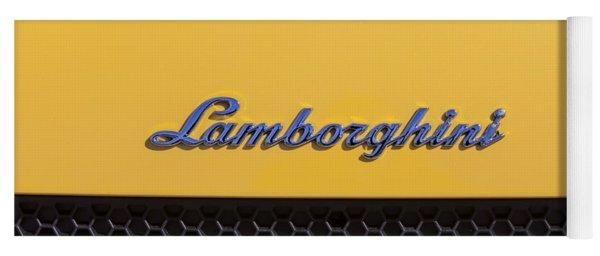 Lamborghini Yoga Mat