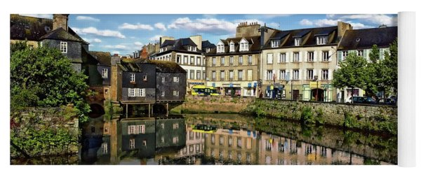 Landerneau Village View Yoga Mat