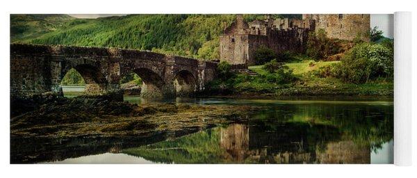 Landscape With An Old Castle Yoga Mat