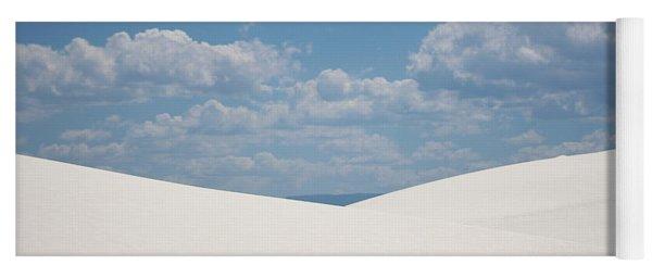 Landscapes Of White Sands 11 Yoga Mat
