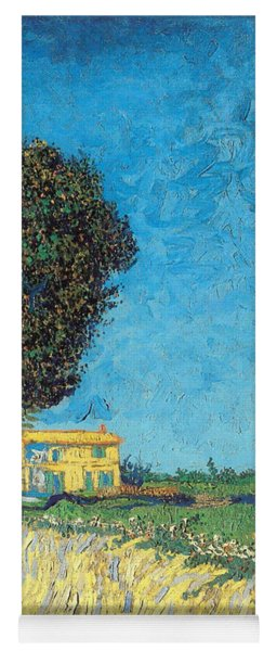 Yoga Mat featuring the painting Lane Near Arles by Van Gogh