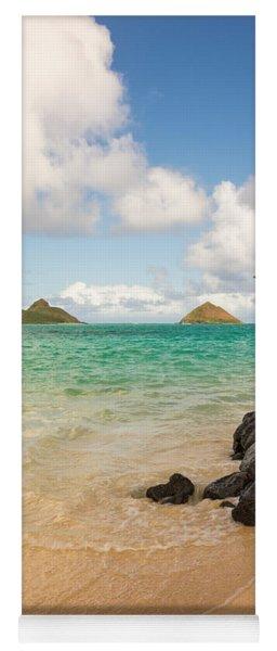 Lanikai Beach 1 - Oahu Hawaii Yoga Mat
