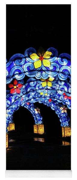 Lantern Arches Yoga Mat