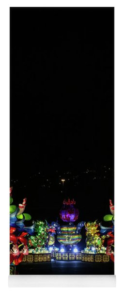 Lantern Path Yoga Mat