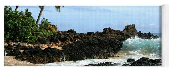 Lapiz Lazuli Stone Aloha Paako Aviaka Yoga Mat
