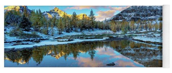 Larch Valley Cloudscape Sunrise Yoga Mat