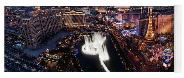 Las Vegas Lights Yoga Mat