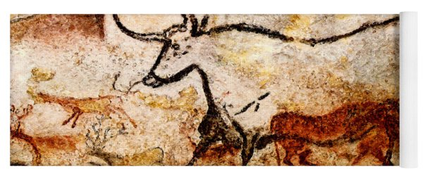 Lascaux Hall Of The Bulls - Aurochs Yoga Mat