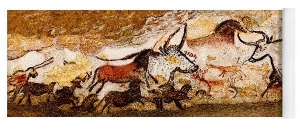 Lascaux Hall Of The Bulls Yoga Mat