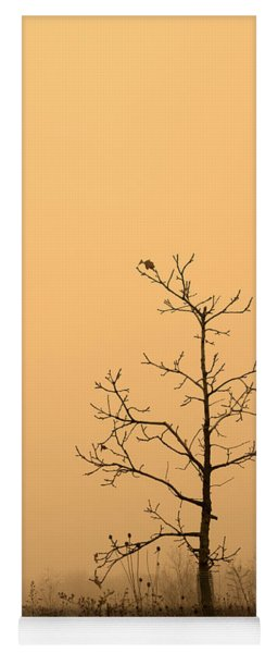 Last Leaves Yoga Mat