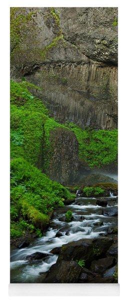 Latourell Falls Oregon Yoga Mat