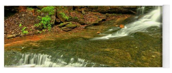 Laurel Highlands Cave Falls Yoga Mat
