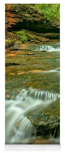 Laurl Highlands Waterfall Gorge Yoga Mat