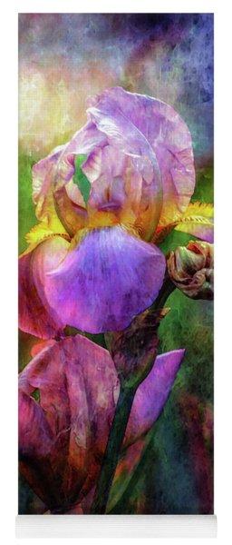Lavender Iris Impression 0056 Idp_2 Yoga Mat