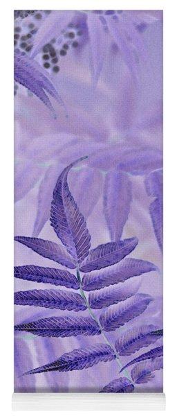 Lavender Leaves  Yoga Mat