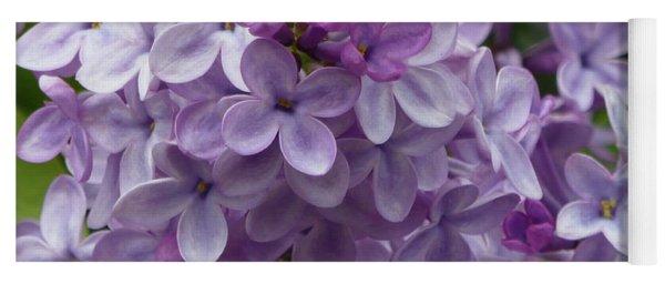 Lavender Lilacs Yoga Mat