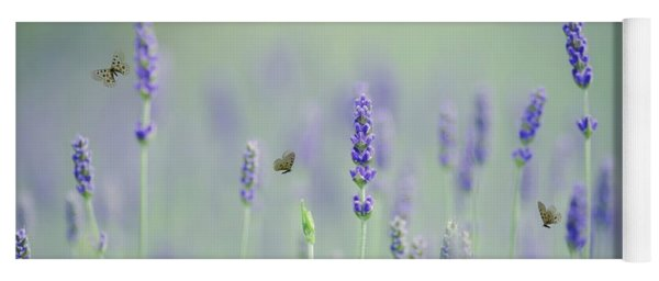 Lavender Magic Yoga Mat