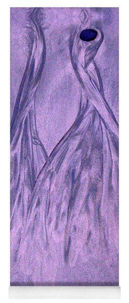Lavender Sand Dancers Yoga Mat